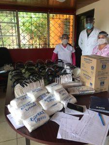 Ayuda Medicos en Nicaragua durante Covid-19