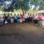 Comunidad Saupuka, entrega Maiz