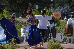 Chavalos de Aquí y Allá hosts first in person dance event since onset of pandemic